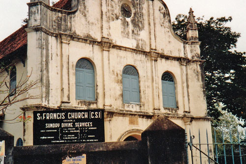 Kirche St. Francis in Cochin