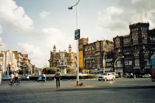 unterwegs in Bombay