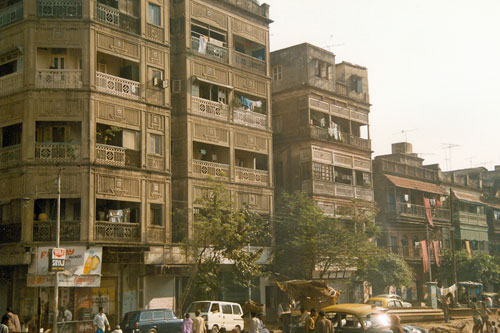 Strasseneindruck in Calcutta