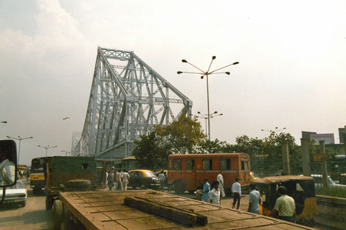 Howrah Bridge Tempel in Calcutta
