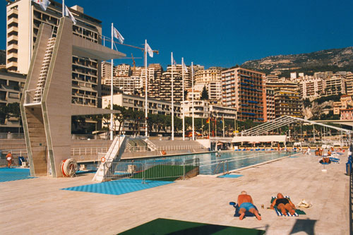 Schwimmbad in Monte Carlo