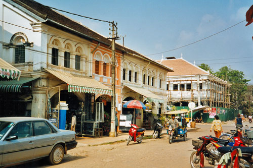 Strasse in Siem Reap
