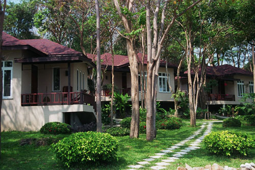 Bungalows in der Anlage Samed Villa