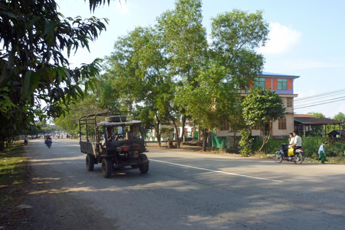 Strasse in Hpa-An