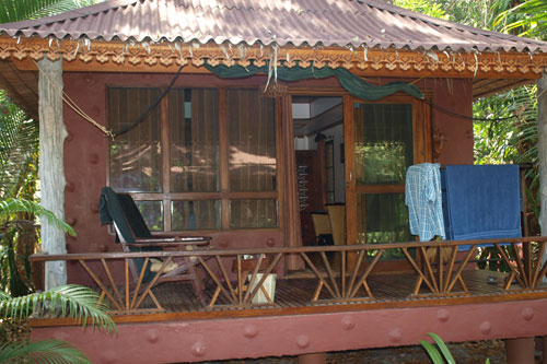 unser Bungalow in Ko Phayam