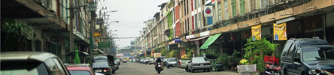 Strasse in Bang Phlat