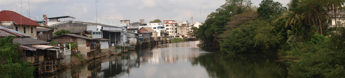 Fluss in Chantaburi