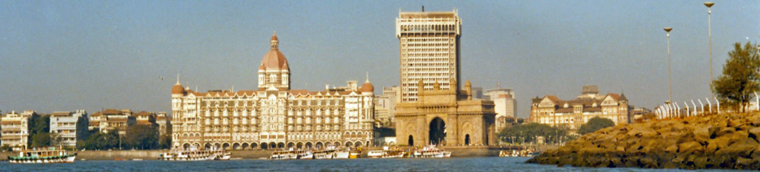 Taj Hotel und Gateway of India